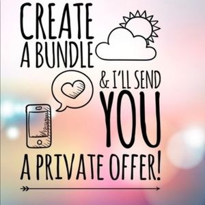 Bundle deals today!!